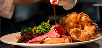 Cornwall Sunday Roast The Llawnroc Hotel