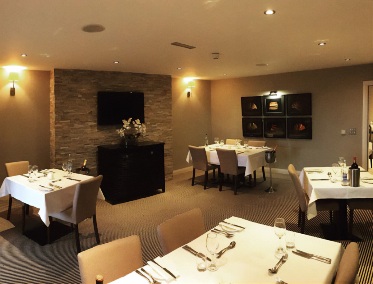 Private Dining Cornwall Hotel - The Llawnroc
